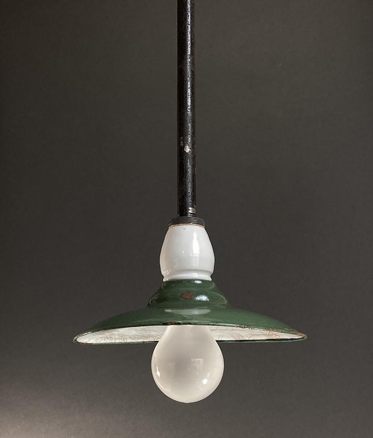 画像1: 1930's German Deco Factory Light (1)