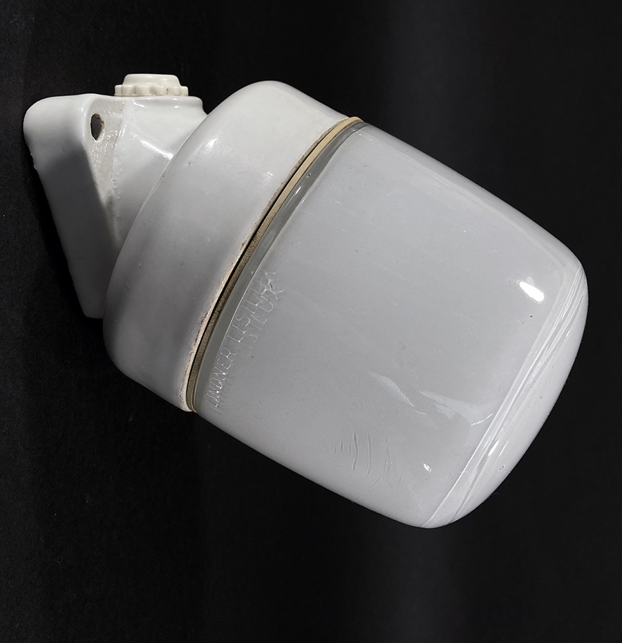 """画像1: 1940-50's German Glass&Porcelain Wall """"MINI"""" Light (1)"""