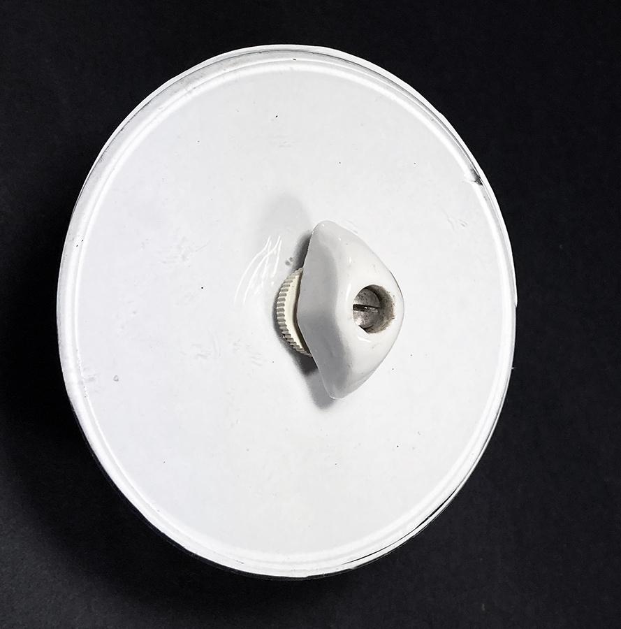 """画像1: 1930-40's """"GERMANY"""" Bakelite Glass Rotary Switch (1)"""