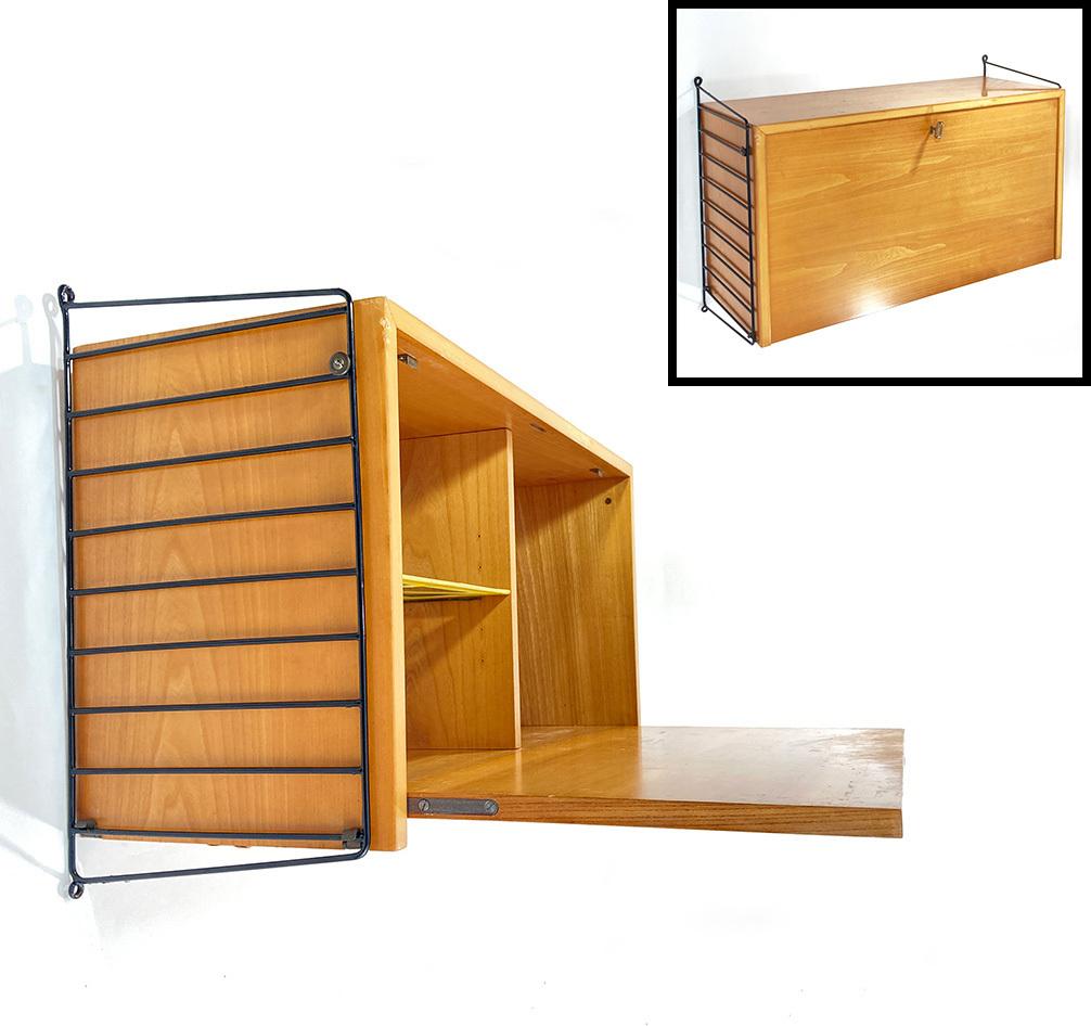 """画像1: """"Nisse String"""" Wood&Steel Wire Shelf String (1)"""
