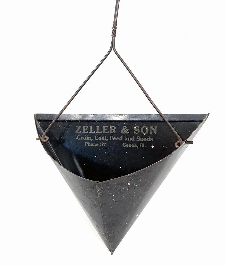 画像1: 1930-40's 【ZELLER & SON】 Advertising Dust Pan (1)
