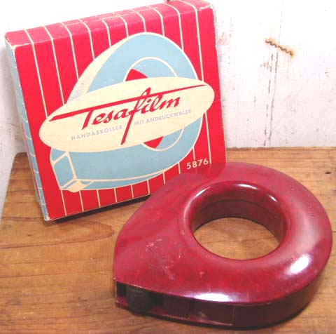 """画像1: 1940's Germany Made """"Handy Cellophane Tape Cutter""""  (1)"""