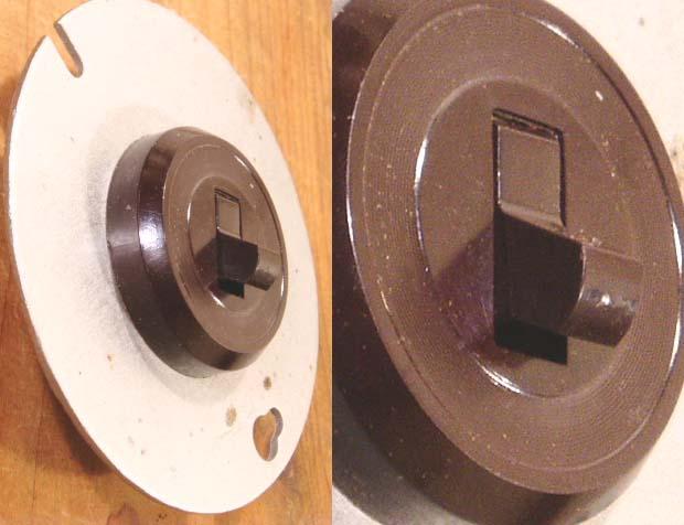 画像1: 【Dead Stock】Antique Bakelite Wall Switch (1)
