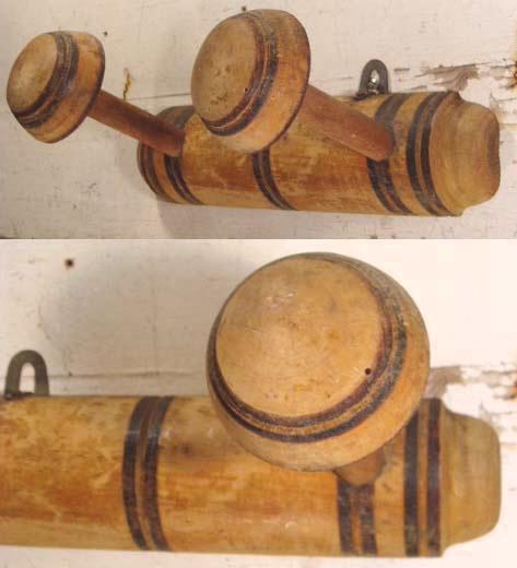 """画像1: French Antique  Natural Wood  """"Bamboo Coat Rack"""" (1)"""