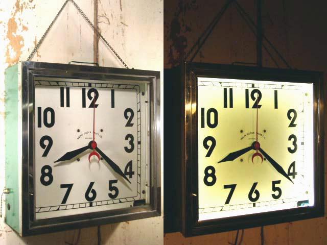 """画像1:  50's White """"NEON"""" Clock【Mint Condition】 (1)"""